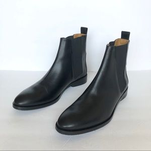 Everlane Black Leather The Modern Chelsea Boots 11